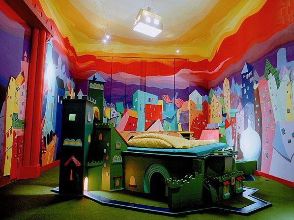 """Un hotel en Berlín concebido como """"arte habitable"""""""