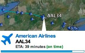 Google Earth permite seguir vuelo tiempo real