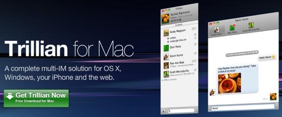 Trillian como cliente Twitter para Mac