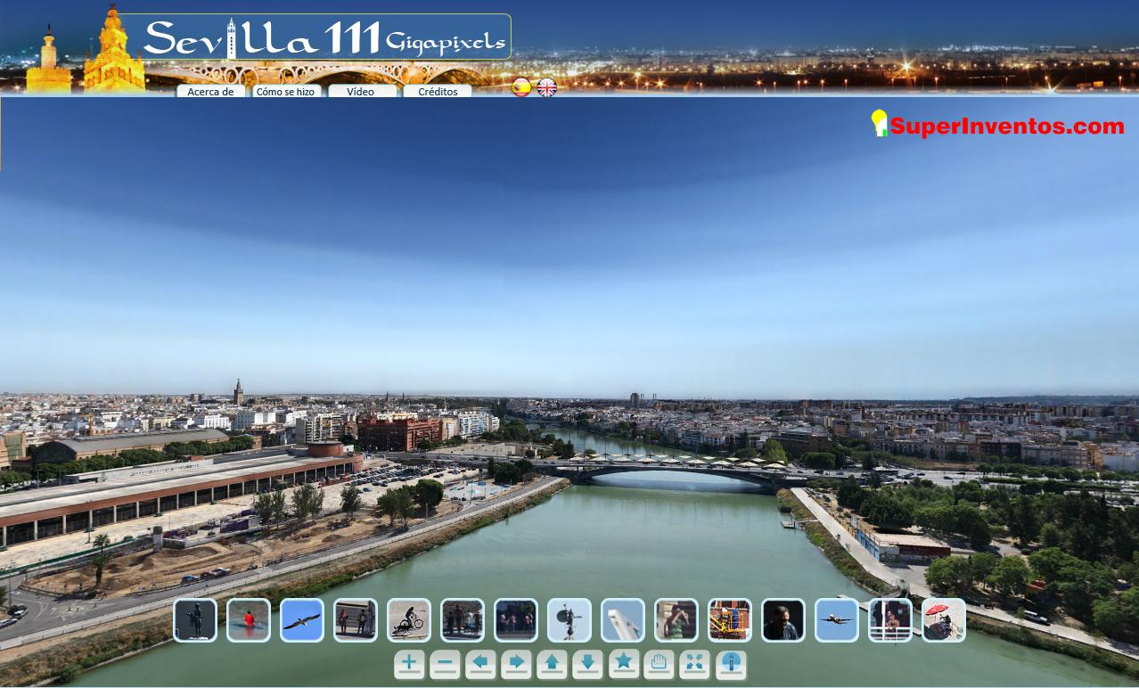 La mayor foto del mundo es de Sevilla