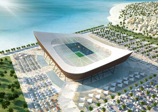 La fantástica (y ecológica) arquitectura para el Mundial de Qatar 2022