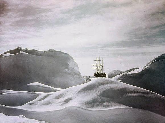 La Expedición Antártica de Shackleton (1915) en color