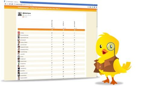 Organiza todo tu timeline de Twitter en listas