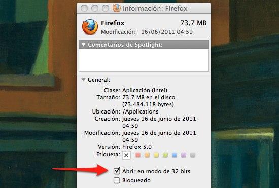 Cómo usar el DNI electrónico con Firefox 5 para mac