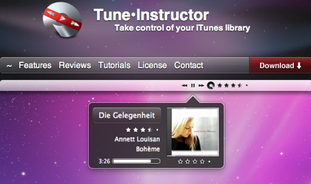Tune Instructor, el mejor controlador de iTunes para mac