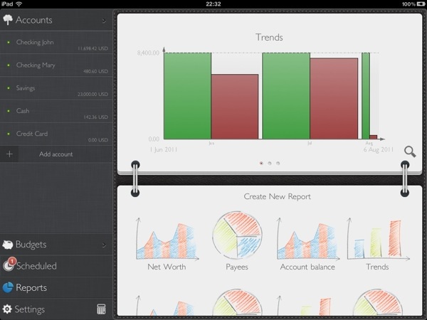 IPad Tutorial ManageReports scr1