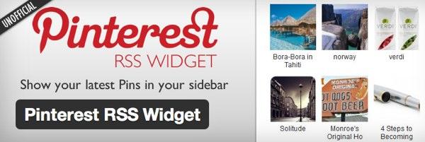 Plugin no oficial de Pinterest para WordPress