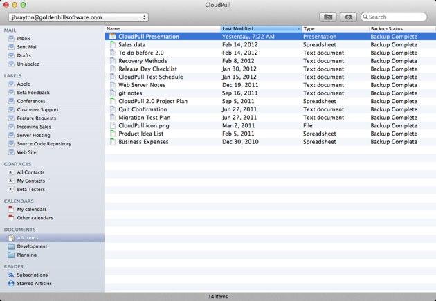 Como hacer backup continuo de tus cuentas de Google en el mac