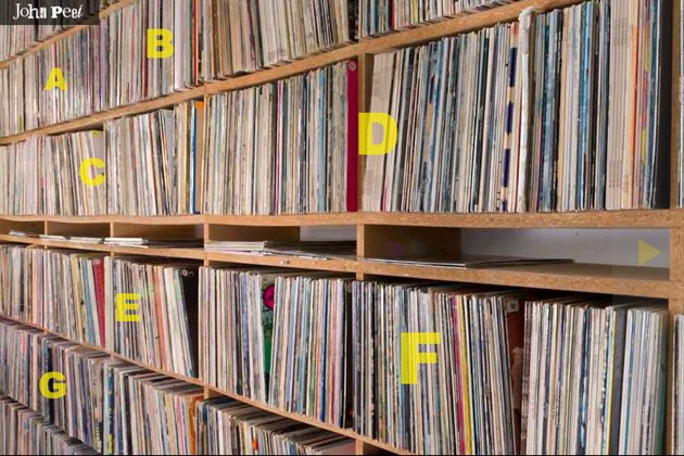 John Peel s Record Shelf