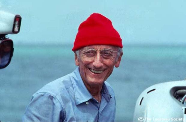 Jacques Cousteau en el recuerdo