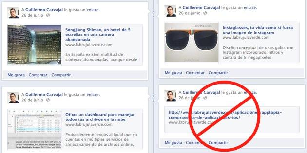 Facebook urls