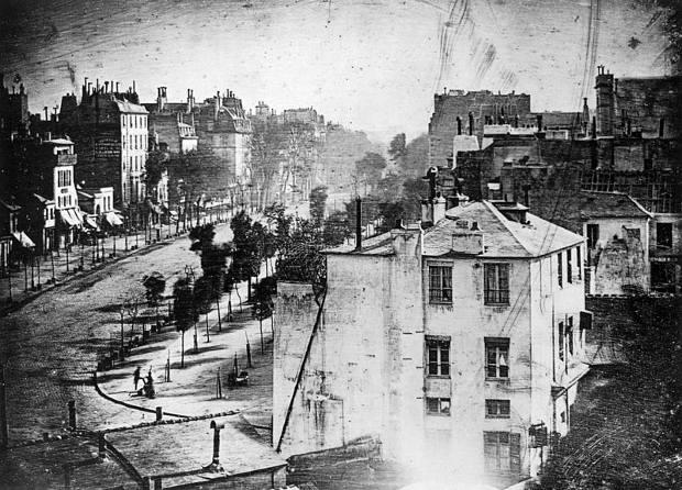 Daguerrotipo antesala fotografía moderna