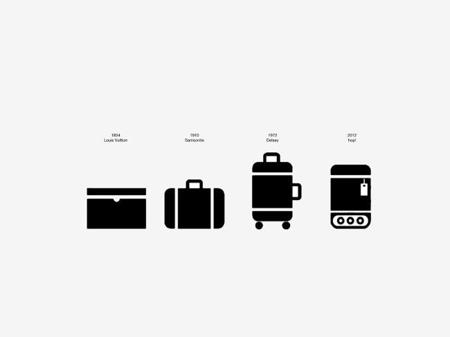 Hop, la maleta que te sigue a todas partes