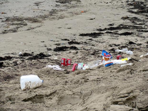 Goa reparte bolsas en las playas para recoger la basura