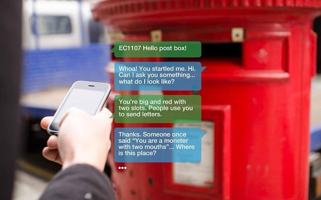 Comunícate con el mobiliario urbano mediante SMS