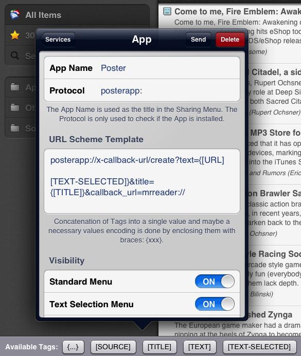 Mr. Reader: nueva actualización del mejor lector de feeds para iPad