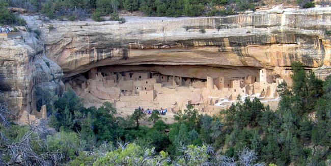 Mesa Verde ciudad anasazi