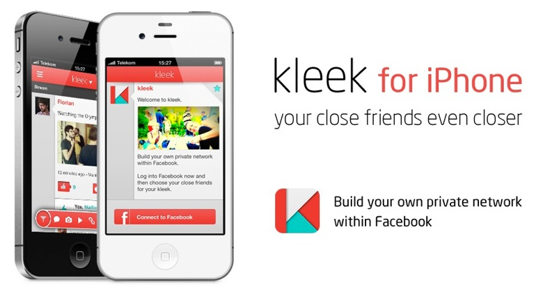 Filtrar y configurar el feed de Facebook en el iPhone con Kleek