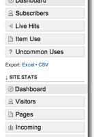 Feedburner incorpora estadísticas del sitio web