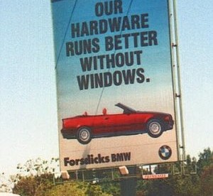 BMW vs. Windows