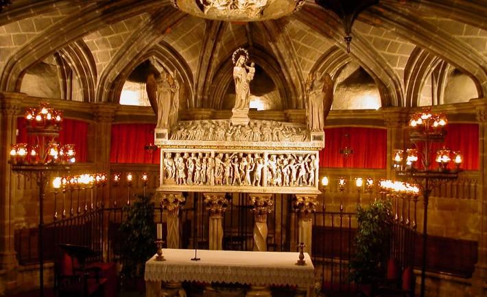 Cripta_Catedral_Barcelona