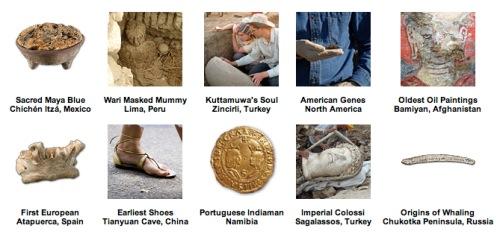 Top 10: descubrimientos arqueológicos de 2008