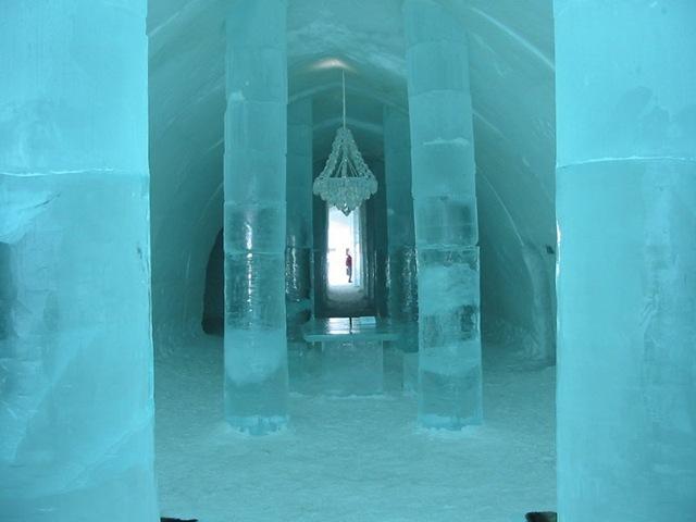 Hoteles de hielo en Suecia, Canadá y Groenlandia