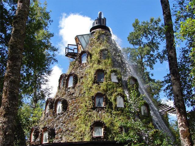 Una montaña mágica y un baobab en Chile