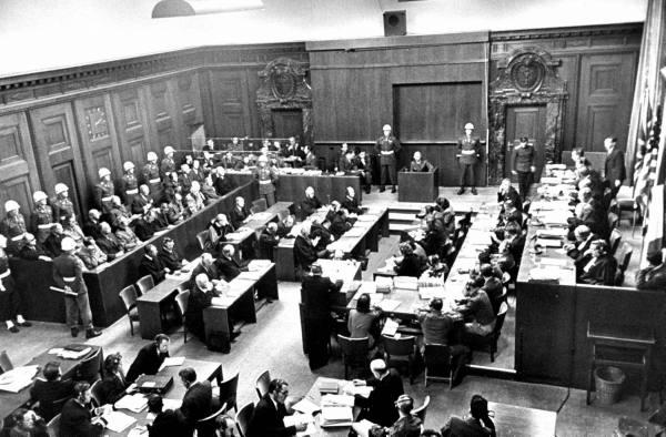 Convertida en memorial museo la sala del juicio de n remberg for Sala 600 nuremberg