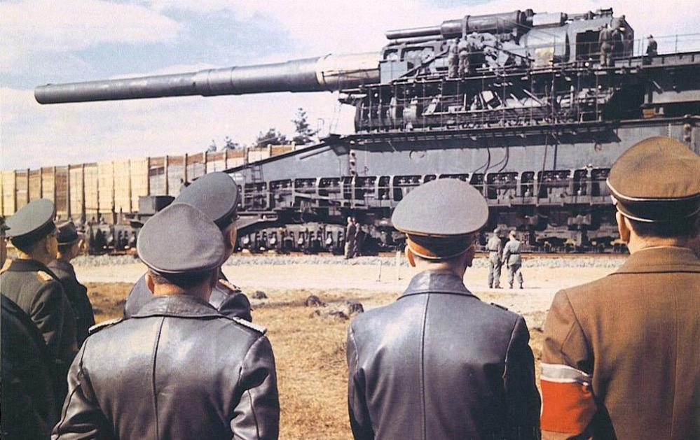 7 cañones famosos de la Historia