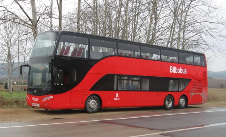 Bilbao estrena autobuses rojos de dos pisos - Autobuses de dos pisos ...
