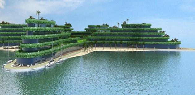 El nuevo hotel flotante de maldivas for Hoteles en el agua maldivas