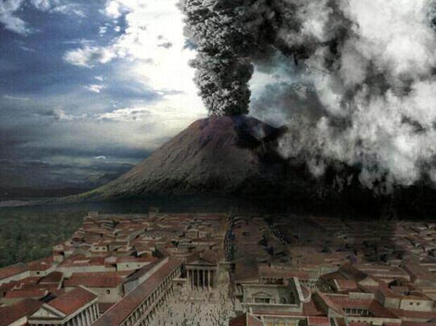 Cuando el Vesubio arrasó Pompeya y Herculano