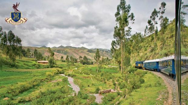 Subiendo Machu Picchu Tren Hiram Bingham