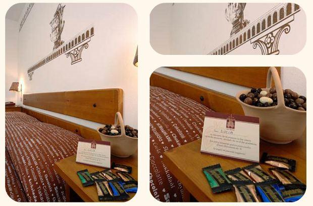 hotel dedicado chocolate