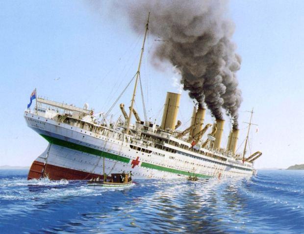 El hundimiento del HMHS Britania y la asombrosa historia de Violeta Jessop