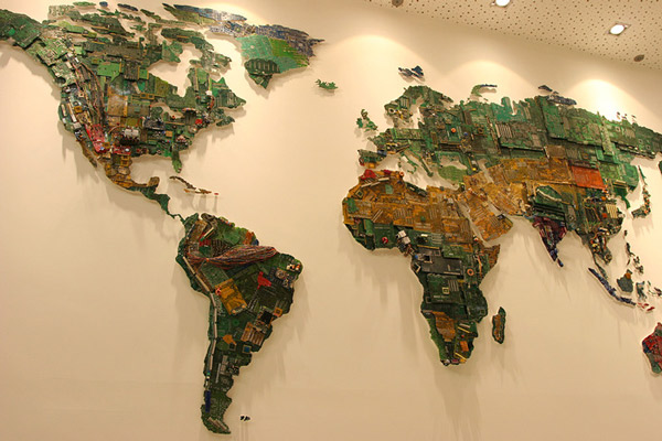 world-map-made-from-recycled-computer-components