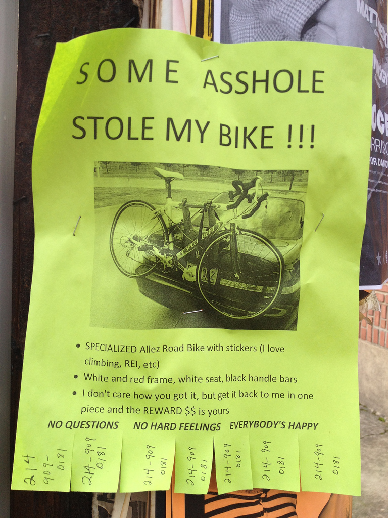 3 métodos para rastrear tu bicicleta en caso de robo