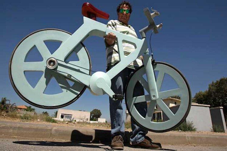 Se busca inversor para fabricar una bicicleta de cartón