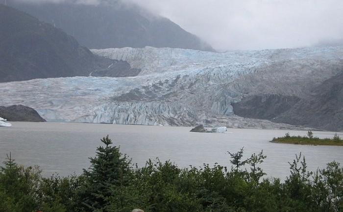 Fotogénico glaciar Mendehall 2