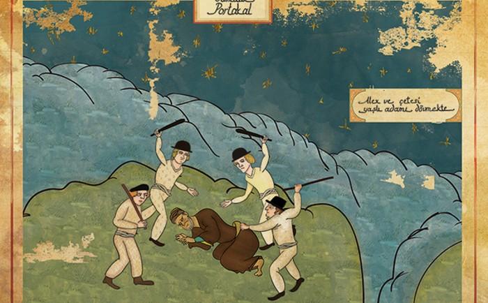 Murat Palta arte otomano tradicional para representar películas famosas