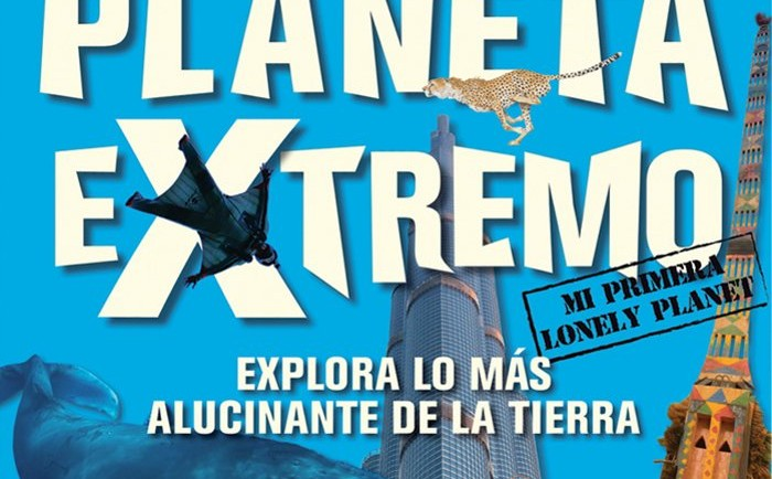 Planeta extremo nueva guía friki lonely Planet