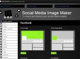Crea fácilmente tus imágenes de perfil con Social Media Image Maker