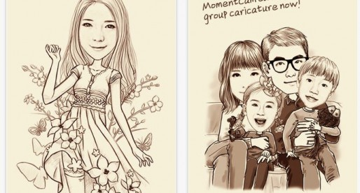 Conviértete en un cartoon con MomentCam para iPhone
