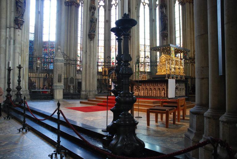 La tumba de los Reyes Magos en Colonia
