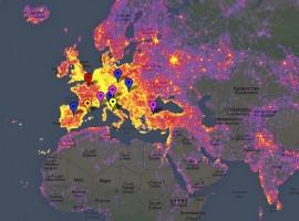Mapa interactivo de los lugares más fotografiados del mundo