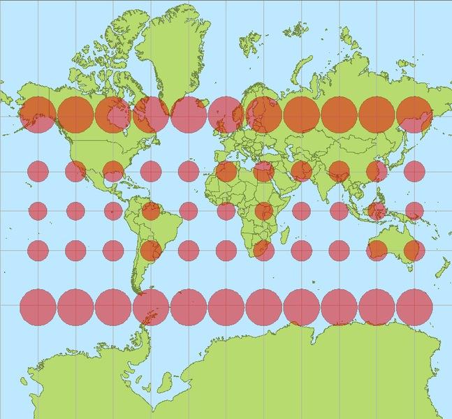 Proyección Mercator