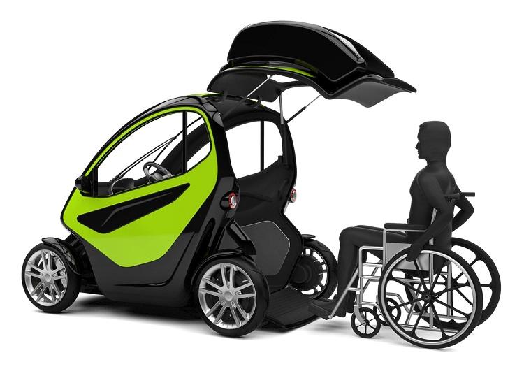 EQUAL, un vehículo eléctrico para personas con discapacidad