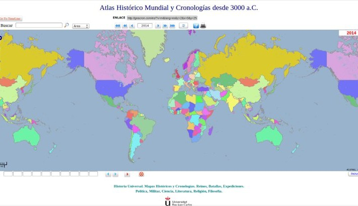Mayores mapas Historia Literatura Internet