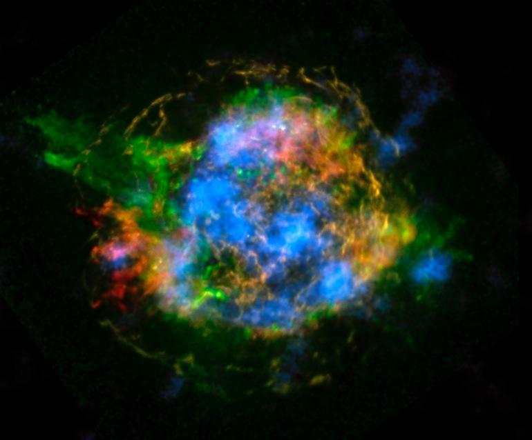 La NASA desvela el misterio de cómo explotan las estrellas